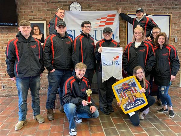 students who competed at skills u-s-a