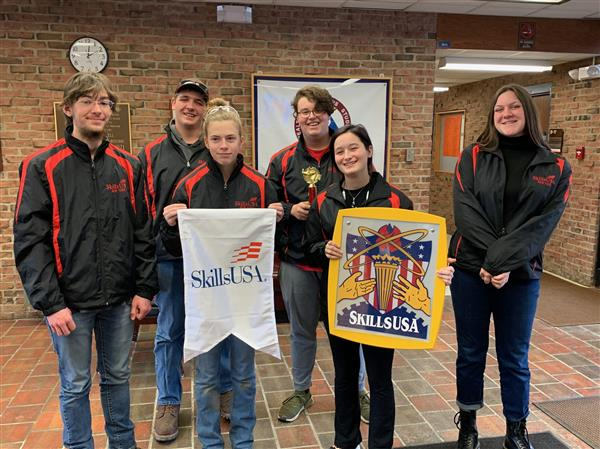 CTE students perform at skills competition