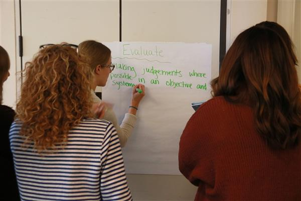 educators practicing computational thinking terminology